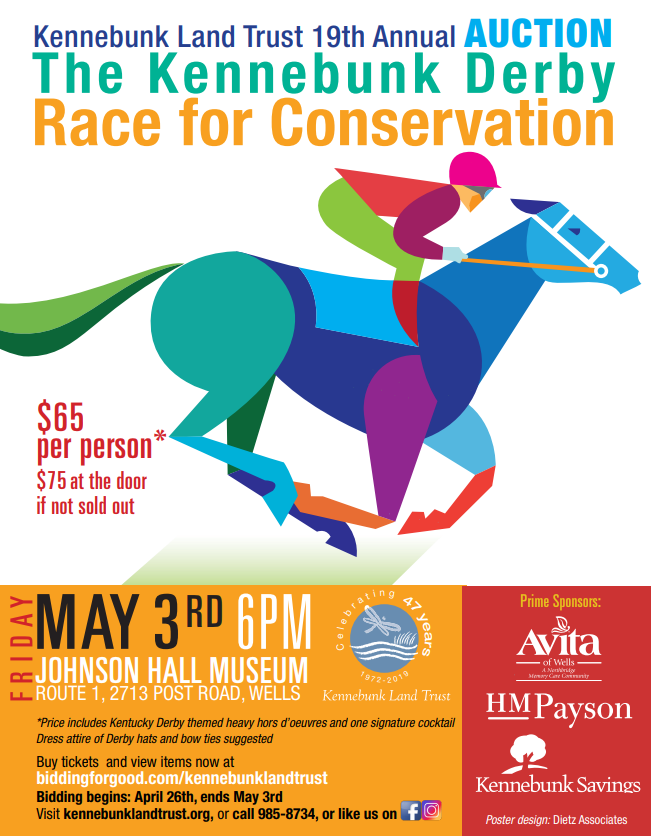 KLT Auction- Kennebunk Derby! @ Johnson Hall
