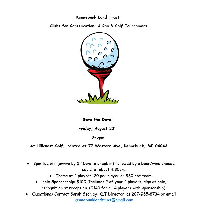 Annual Par 3 Golf Tournament